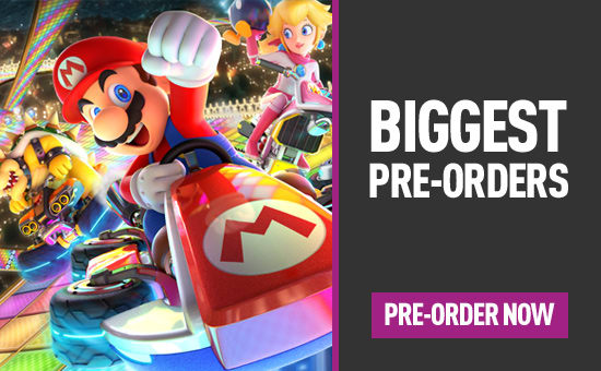 Biggest Pre-orders in 2017 - Pre-order Now at GAME.co.uk