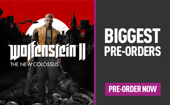Biggest Pre-orders for PlayStation 4, Xbox One and PC - Homepage eSpot