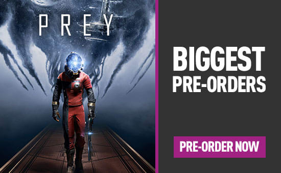 Prey for PlayStation 4, Xbox One and PC