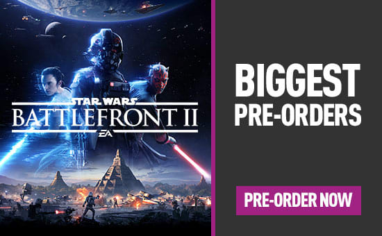 Star Wars Battlefront II for PlayStation 4, Xbox One and PC
