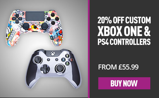 Custom Controllers-  Buy Now at GAME.co.uk!
