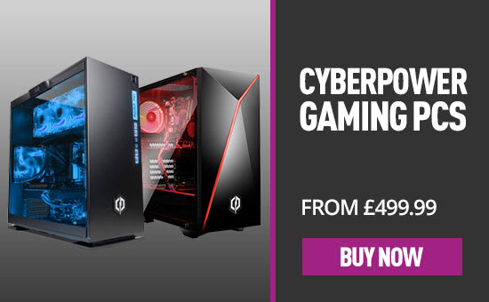 Cyberpower Reactor & Stealth Gaming PCs - Save £100 Whilst Stocks Last - Buy Now at GAME.co.uk