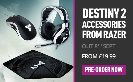 Destiny 2 Accessories by Razer - Out 22 August - From £19.99 at GAME.co.uk