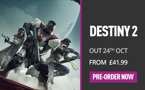 Destiny 2 for PC - Buy now at GAME.co.uk