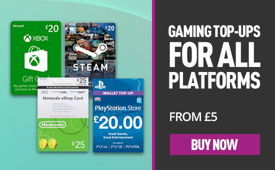 Gaming Credit top ups at GAME.co.uk!