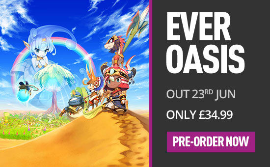 Ever Oasis for Nintendo 3DS - Pre-order Now at GAME.co.uk!