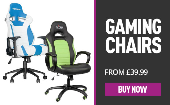 Gaming Chairs from £39.99 - Buy Now at GAME.co.uk