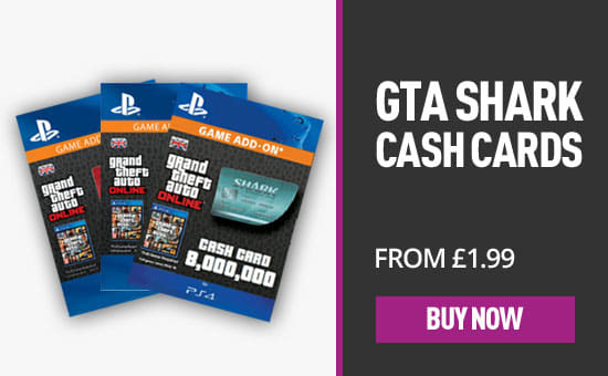 GTA V Shark Cards for PlayStation Network - Download Now at GAME.co.uk!
