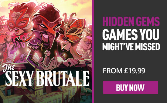 Hidden Gems: The Sexy Brutale - Homepage eSpot