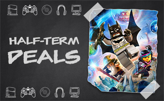 Half Term Deals at GAME - Deals on Xbox One, Playstation 4 and PC Games, Consoles, Accessories and Licenced Merchandise  - Buy Now at GAME.co.uk