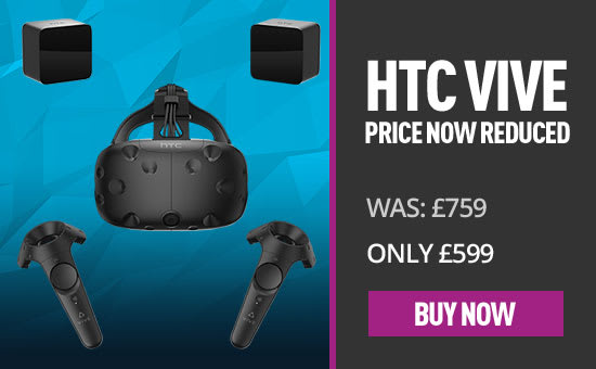 HTC Vive - Only £599 - Buy Now at GAME.co.uk