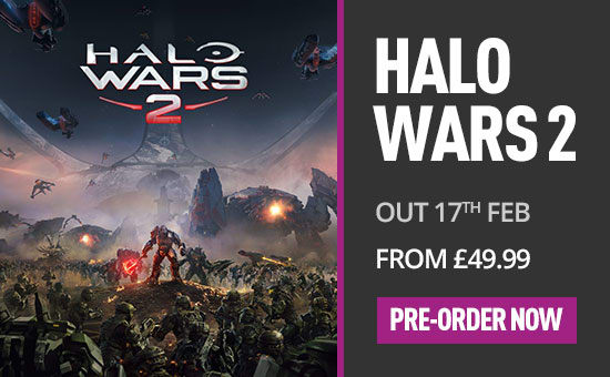 Halo Wars 2 for Xbox One - Pre-purchase Now at GAME.co.uk!