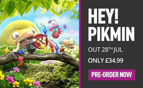 Hey! PIKMIN for Nintendo 3DS - Pre-order Now at GAME.co.uk!