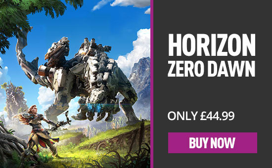 Horizon Zero Dawn exclusively on PS4 at GAME.co.uk