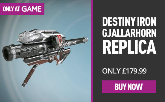 Exclusive Destiny merchandise at GAME.co.uk