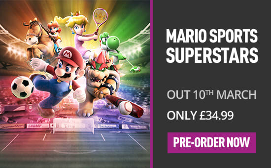 Mario Sports Superstars for Nintendo 3DS - Preorder Now at GAME.co.uk!