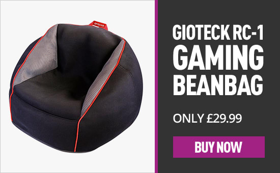 Gioteck RC 1 Gaming BeanBag by Marketplace -  Buy Now at GAME.co.uk!