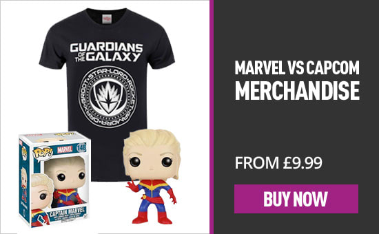 Marvel vs. Capcom Merchandise - Homepage eSpot
