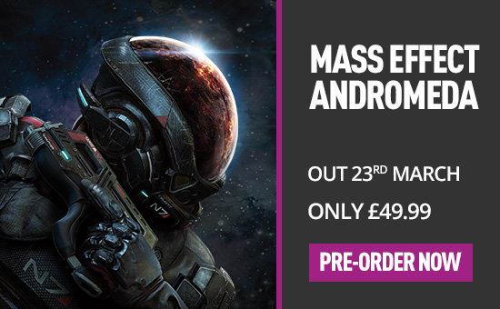 Mass Effect Andromeda for Xbox One - Pre-order now at GAME.co.uk
