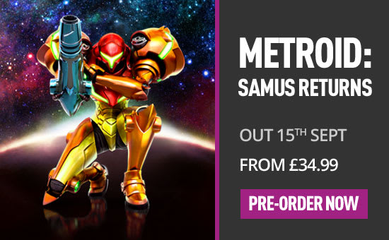 Pre-order Metroid: Samus Returns at Game.co.uk!