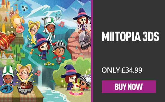 Miitopia for Nintendo 3DS - Pre-order Now at GAME.co.uk!