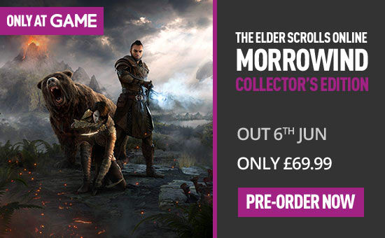 The Elder Scrolls Online Morrowind Collectors Edition - Only at GAME on PS4 at GAME.co.uk