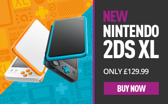 NEW Nintendo 2DS XL - Preorder Now at GAME.co.uk!