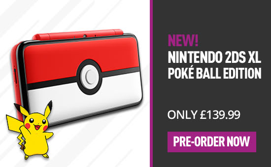 NEW Nintendo 2DS XL: Poke Ball Edition! - Preorder Now at GAME.co.uk!