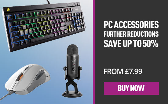 Further Reductions on select PC accessories - Buy Now at GAME.co.uk