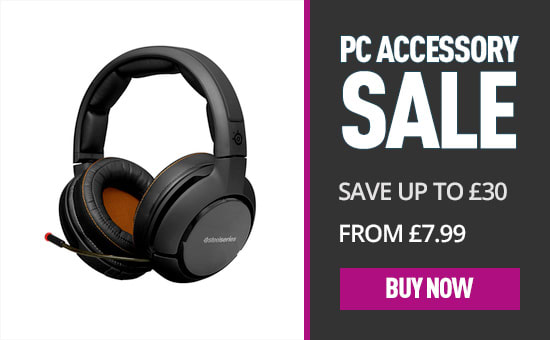 PC Accessory Sale - From £7.99 at GAME.co.uk