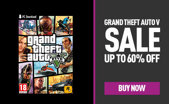 Grand Theft Auto V PC Download Sale - Up to 60% Off - Download now at GAME.co.uk
