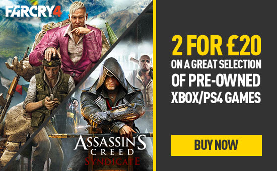 Pre-owned 2 for £20 at GAME.co.uk