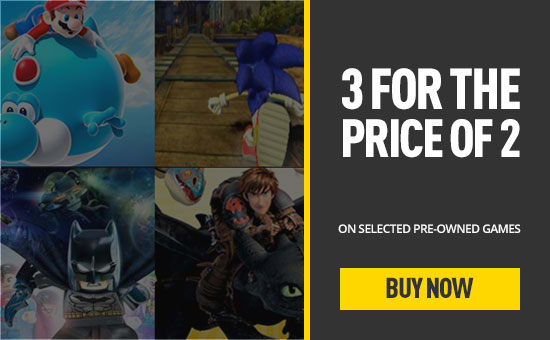 Preowned 3 for 2- Buy Now at GAME.co.uk!