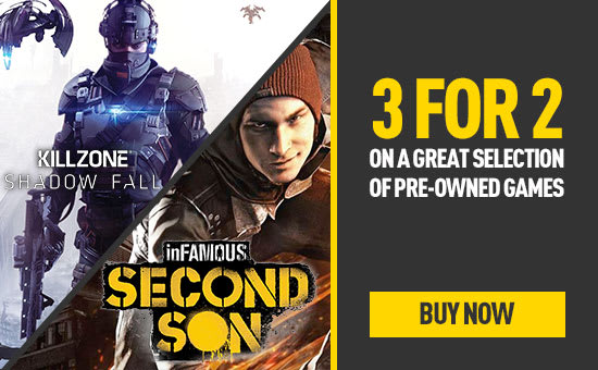Pre-owned 3 for 2 at GAME.co.uk