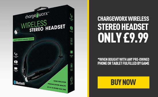 Chargeworx Headset only £9.99 at GAME.co.uk