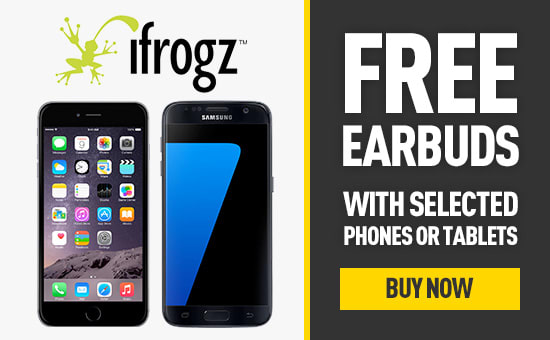Free Earbuds with Selected Phones or Tablets - Buy Now at GAME.co.uk!
