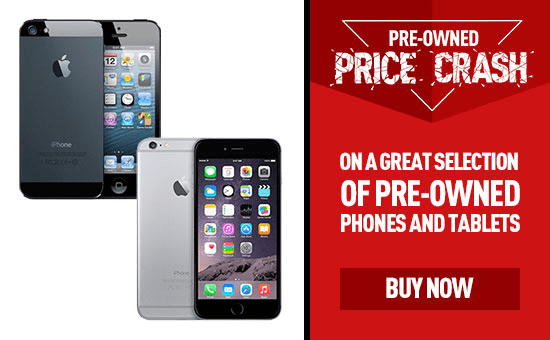 Pre-owned Price Crash - Phones and Tablets at GAME.co.uk!