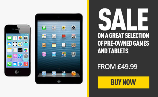 Pre-owned Sale - Phones and Tablets at GAME.co.uk!