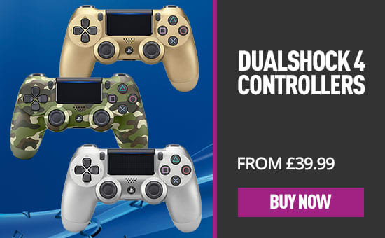 Steel Black Dualshock 4 for PS4 - Out now at GAME.co.uk