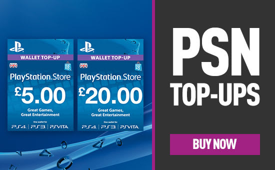 PSN Top Ups for PlayStation Network - Download Now at GAME.co.uk!