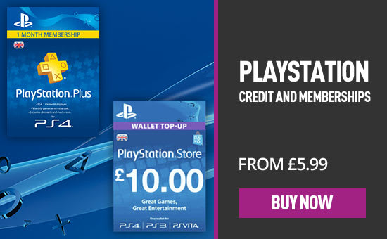 Playstation Credit - Homepage eSpot