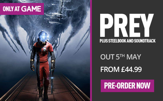 Prey SteelBook and Soundtrack edition on PS4 at game.co.uk
