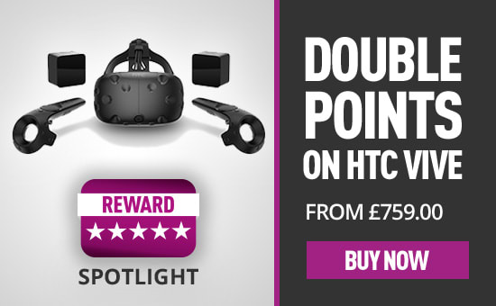 Double Reward Points on HTC Vive Headsets - Buy Now at GAME.co.uk!