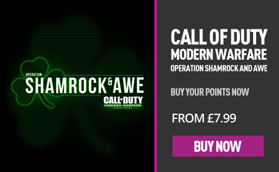 Call of Duty Shamrock and Awe for PlayStation Network  at GAME.co.uk!