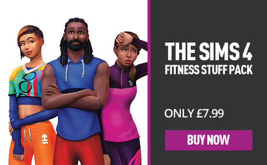 Sims 4 Fitness Stuff - Download Now at GAME.co.uk