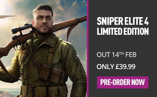 Sniper Elite 4 on PS4 - Pre Order Now at GAME.co.uk