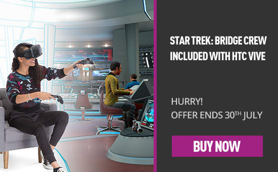 Star Trek Bridge Crew now included with HTC Vive - Buy Now at GAME.co.uk