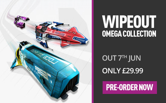 Wipeout Omega Collection HD exclusively for PS4 at GAME.co.uk