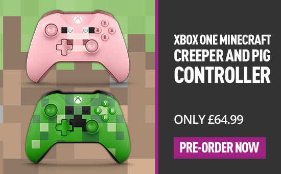 Mincraft Xbox One Controllers at GAME.co.uk