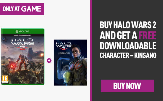 Free Kinsano DLC when you buy Halo Wars 2 for Xbox One